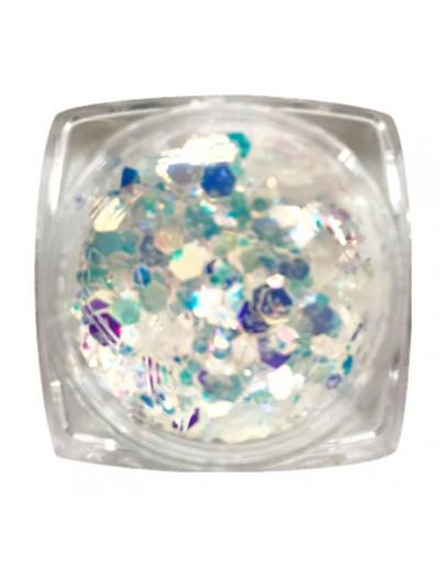 Mixed Aurora Crystal