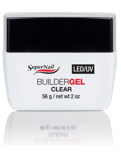 SuperNail LED/UV Builder Gel Clear 56g / 2oz